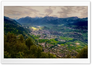 Swiss Valley HD Wide Wallpaper for Widescreen