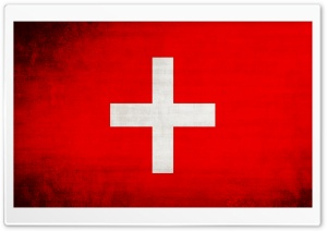 Switzerland Flag HD Wide Wallpaper for Widescreen