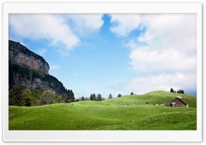 Switzerland Mountain Landscape HD Wide Wallpaper for Widescreen