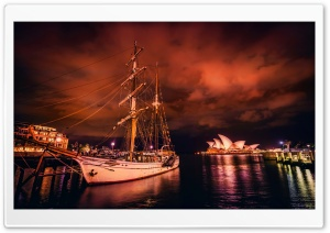 Sydney Harbor HD Wide Wallpaper for 4K UHD Widescreen desktop & smartphone