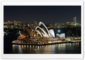 Sydney Opera House HD Wide Wallpaper for 4K UHD Widescreen desktop & smartphone