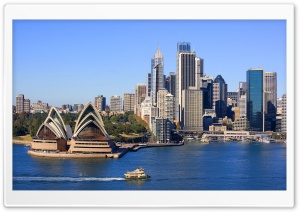 Sydney Skyline HD Wide Wallpaper for 4K UHD Widescreen desktop & smartphone