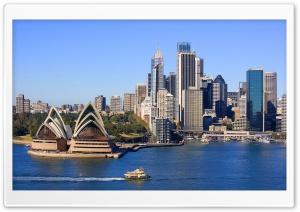 Sydney Skyline HD Wide Wallpaper for Widescreen