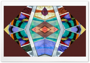 Symmetrical Design with Window Screen Art Ultra HD Wallpaper for 4K UHD Widescreen desktop, tablet & smartphone