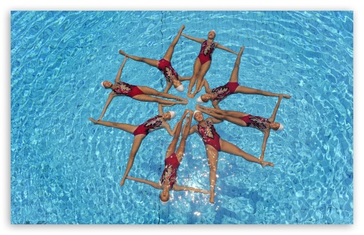 Synchronized Swimming HD wallpaper for Wide 16:10 5:3 Widescreen WHXGA WQXGA WUXGA WXGA WGA ; HD 16:9 High Definition WQHD QWXGA 1080p 900p 720p QHD nHD ; Standard 4:3 5:4 3:2 Fullscreen UXGA XGA SVGA QSXGA SXGA DVGA HVGA HQVGA devices ( Apple PowerBook G4 iPhone 4 3G 3GS iPod Touch ) ; Tablet 1:1 ; iPad 1/2/Mini ; Mobile 4:3 5:3 3:2 16:9 5:4 - UXGA XGA SVGA WGA DVGA HVGA HQVGA devices ( Apple PowerBook G4 iPhone 4 3G 3GS iPod Touch ) WQHD QWXGA 1080p 900p 720p QHD nHD QSXGA SXGA ;
