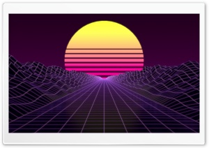 Synthwave HD Wide Wallpaper for 4K UHD Widescreen desktop & smartphone