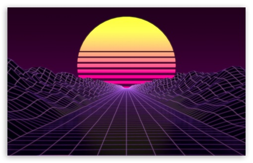 Download Synthwave HD Wallpaper