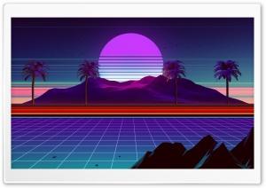 Synthwave, Retrowave Ultra HD Wallpaper for 4K UHD Widescreen desktop, tablet & smartphone