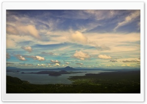 Taal Volcano HDR HD Wide Wallpaper for 4K UHD Widescreen desktop & smartphone