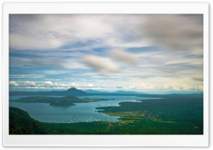 Taal Volcano, Island Of Luzon, Philippines HD Wide Wallpaper for Widescreen