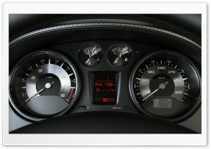 Tachometer And Speedometer HD Wide Wallpaper for Widescreen