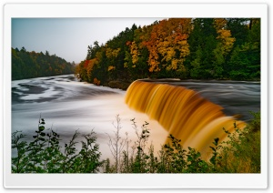 Tahquamenon Falls, Michigans Upper Peninsula, Tahquamenon Falls State Park Ultra HD Wallpaper for 4K UHD Widescreen desktop, tablet & smartphone