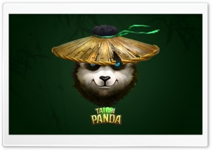 Taichi Panda HD Wide Wallpaper for Widescreen
