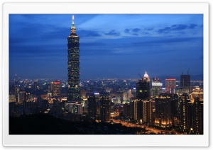 Taipei 101 HD Wide Wallpaper for Widescreen
