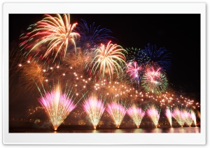 Taipei Firework Ultra HD Wallpaper for 4K UHD Widescreen desktop, tablet & smartphone