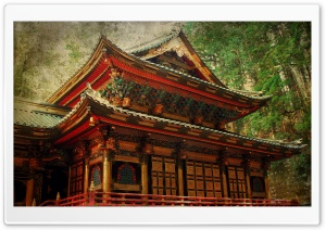 Taiyuin Temple HD Wide Wallpaper for Widescreen