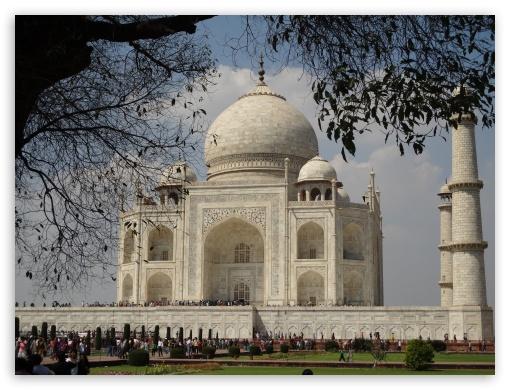 Taj Mahal 4k Hd Desktop Wallpaper For
