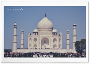 Taj Mahal HD Wide Wallpaper for 4K UHD Widescreen desktop & smartphone