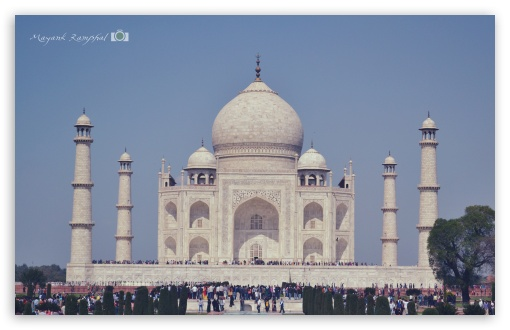 Taj Mahal HD wallpaper for Wide 16:10 5:3 Widescreen WHXGA WQXGA WUXGA WXGA WGA ; HD 16:9 High Definition WQHD QWXGA 1080p 900p 720p QHD nHD ; UHD 16:9 WQHD QWXGA 1080p 900p 720p QHD nHD ; iPad 1/2/Mini ; Mobile 4:3 5:3 3:2 16:9 - UXGA XGA SVGA WGA DVGA HVGA HQVGA devices ( Apple PowerBook G4 iPhone 4 3G 3GS iPod Touch ) WQHD QWXGA 1080p 900p 720p QHD nHD ;