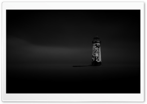 Talacre Lighthouse Ghost Ultra HD Wallpaper for 4K UHD Widescreen desktop, tablet & smartphone