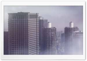 Tall Buildings HD Wide Wallpaper for Widescreen