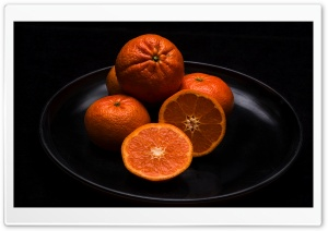 Tangerines, Fruits HD Wide Wallpaper for Widescreen