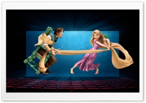 Tangled 3D Movie HD Wide Wallpaper for Widescreen