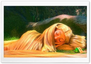 Tangled HD Wide Wallpaper for Widescreen