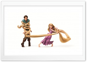 Tangled   Rapunzel And Flynn Ryder HD Wide Wallpaper for Widescreen