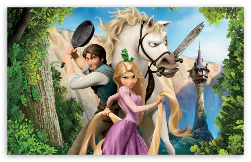 Tangled   Rapunzel, Flynn And Maximus HD wallpaper for Wide 16:10 5:3 Widescreen WHXGA WQXGA WUXGA WXGA WGA ; HD 16:9 High Definition WQHD QWXGA 1080p 900p 720p QHD nHD ; Standard 4:3 5:4 3:2 Fullscreen UXGA XGA SVGA QSXGA SXGA DVGA HVGA HQVGA devices ( Apple PowerBook G4 iPhone 4 3G 3GS iPod Touch ) ; Tablet 1:1 ; iPad 1/2/Mini ; Mobile 4:3 5:3 3:2 16:9 5:4 - UXGA XGA SVGA WGA DVGA HVGA HQVGA devices ( Apple PowerBook G4 iPhone 4 3G 3GS iPod Touch ) WQHD QWXGA 1080p 900p 720p QHD nHD QSXGA SXGA ;