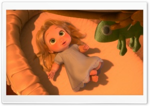 Tangled Baby Rapunzel HD Wide Wallpaper for Widescreen