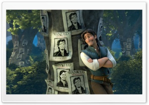Tangled Flynn HD Wide Wallpaper for Widescreen