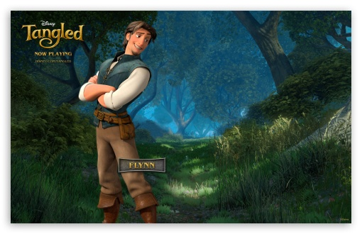 Tangled Flynn HD wallpaper for Wide 16:10 5:3 Widescreen WHXGA WQXGA WUXGA WXGA WGA ; Mobile 5:3 - WGA ;