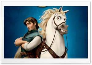 Tangled Flynn Ryder HD Wide Wallpaper for Widescreen
