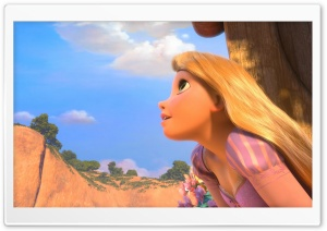 Tangled Rapunzel HD Wide Wallpaper for Widescreen
