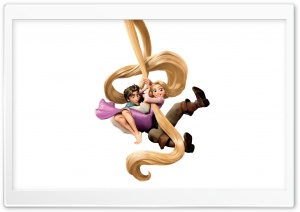 Tangled Rapunzel And Flynn Ryder Ultra HD Wallpaper for 4K UHD Widescreen desktop, tablet & smartphone