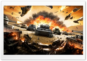 Tanks HD Wide Wallpaper for Widescreen