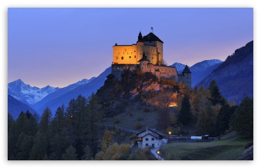 Tarasp Castle, Engadin, Switzerland HD wallpaper for Wide 16:10 5:3 Widescreen WHXGA WQXGA WUXGA WXGA WGA ; HD 16:9 High Definition WQHD QWXGA 1080p 900p 720p QHD nHD ; Standard 4:3 5:4 3:2 Fullscreen UXGA XGA SVGA QSXGA SXGA DVGA HVGA HQVGA devices ( Apple PowerBook G4 iPhone 4 3G 3GS iPod Touch ) ; Tablet 1:1 ; iPad 1/2/Mini ; Mobile 4:3 5:3 3:2 16:9 5:4 - UXGA XGA SVGA WGA DVGA HVGA HQVGA devices ( Apple PowerBook G4 iPhone 4 3G 3GS iPod Touch ) WQHD QWXGA 1080p 900p 720p QHD nHD QSXGA SXGA ;