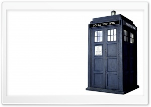 Tardis HD Wide Wallpaper for Widescreen