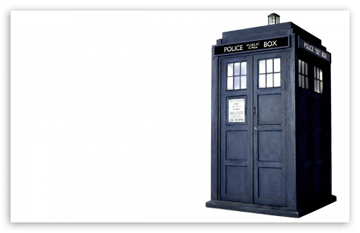 Download Tardis UltraHD Wallpaper