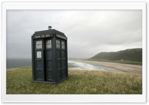 Tardis Doctor Who HD Wide Wallpaper for Widescreen