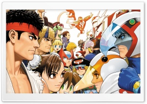 Tatsunoko vs Capcom HD Wide Wallpaper for Widescreen