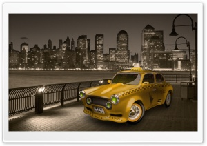Taxi Ultra HD Wallpaper for 4K UHD Widescreen desktop, tablet & smartphone