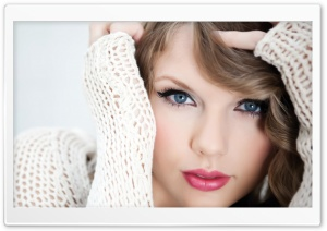 Taylor Swift Close-Up HD Wide Wallpaper for Widescreen