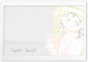 Taylor Swift Drawing HD Wide Wallpaper for Widescreen