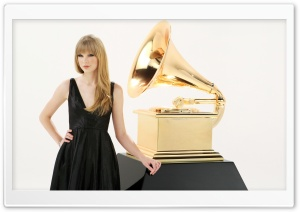 Taylor Swift Grammy HD Wide Wallpaper for 4K UHD Widescreen desktop & smartphone