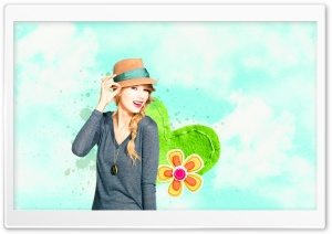 Taylor Swift Valentines Day HD Wide Wallpaper for Widescreen