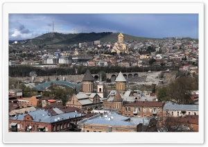 Tbilisi HD Wide Wallpaper for Widescreen