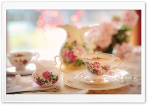 Tea Cup HD Wide Wallpaper for Widescreen