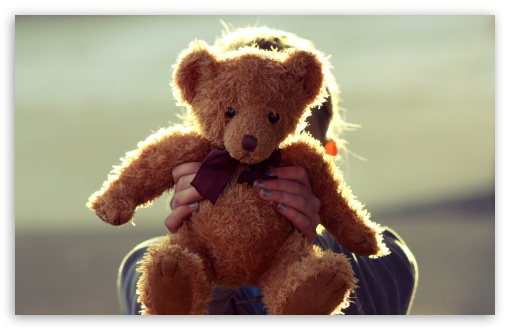 Download Teddy Bear UltraHD Wallpaper